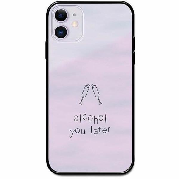 Apple iPhone 12 Svart Mobilskal med Glas Sprit
