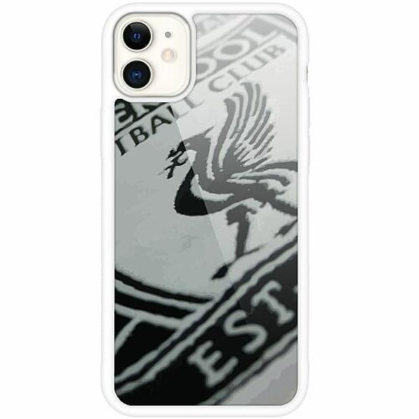Apple iPhone 12 mini Vitt Mobilskal med Glas Liverpool L.F.C.