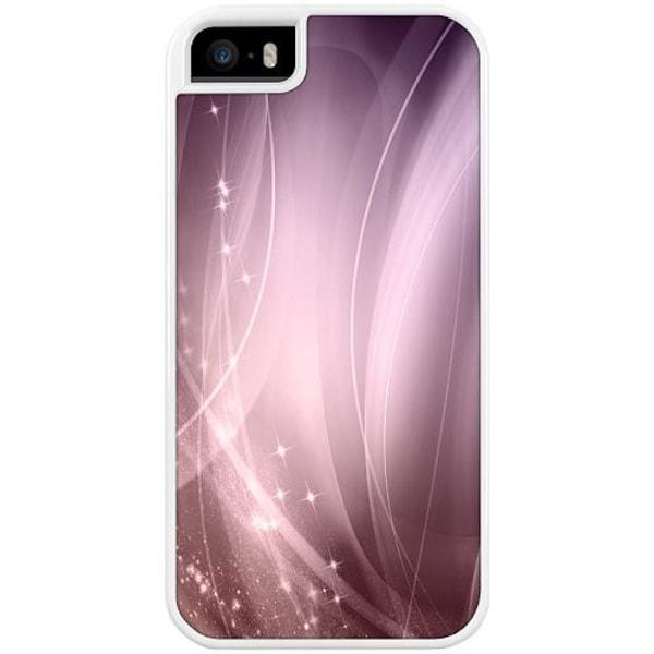 Apple iPhone 5 / 5s / SE Duo Case Vit Lavender Dust
