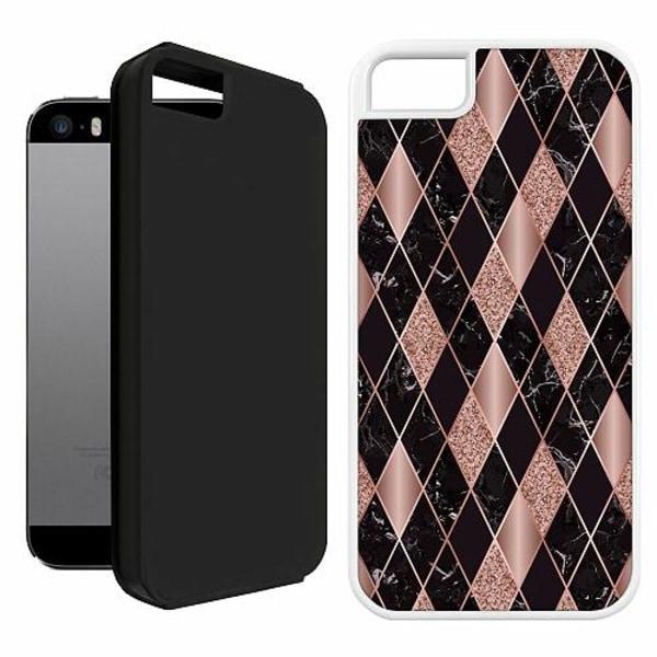 Apple iPhone 5 / 5s / SE Duo Case Vit Sophisticated