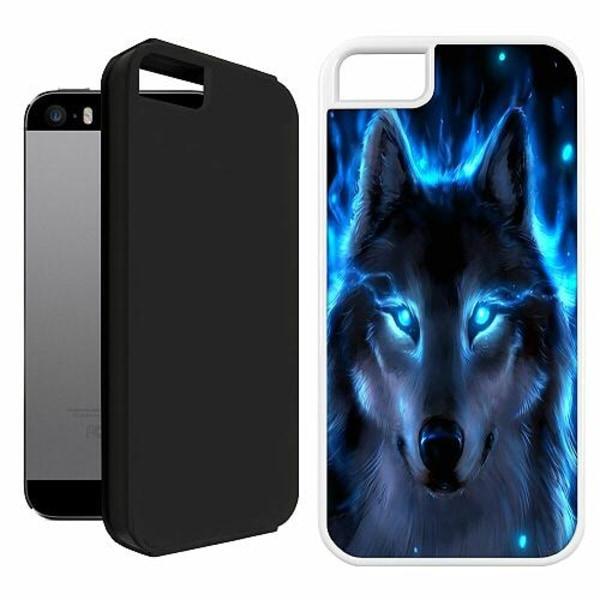 Apple iPhone 5 / 5s / SE Duo Case Vit Varg