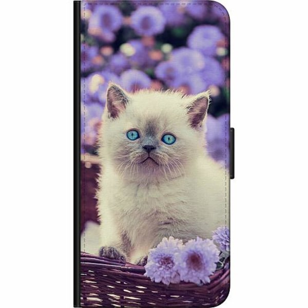 Apple iPhone 5 / 5s / SE Fodralväska Katt