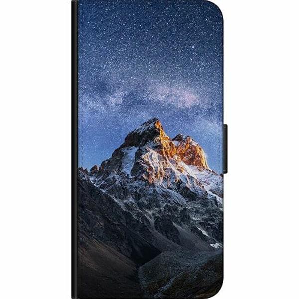 Apple iPhone 5 / 5s / SE Fodralväska Mountains