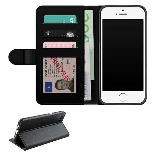Apple iPhone 5 / 5s / SE Fodralväska Pineapples Teal