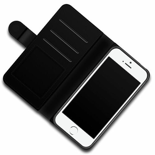 Apple iPhone 5 / 5s / SE Lyxigt Fodral King 01