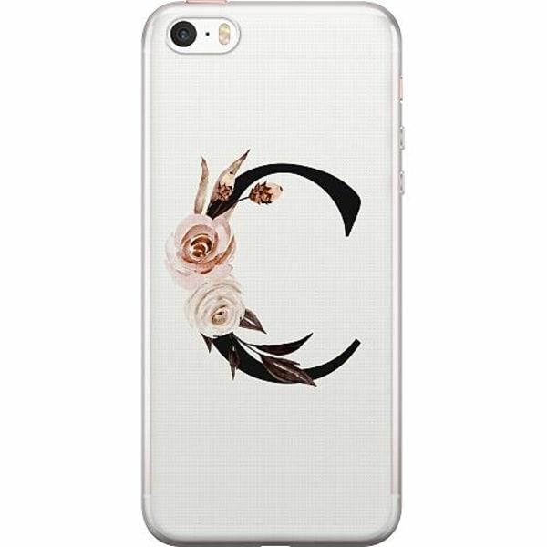 Apple iPhone 5 / 5s / SE Thin Case Bokstäver