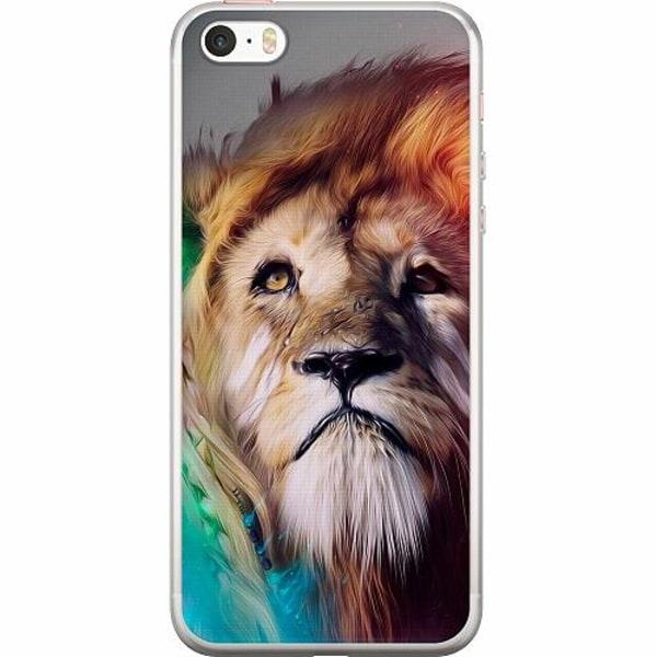 Apple iPhone 5 / 5s / SE Thin Case Lion