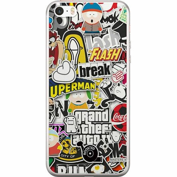 Apple iPhone 5 / 5s / SE Thin Case Stickers