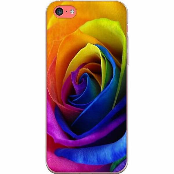 Apple iPhone 5c TPU Mobilskal Blomma