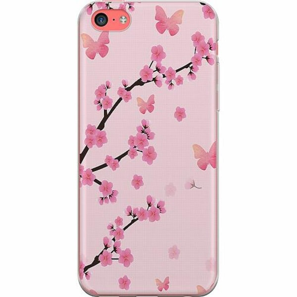 Apple iPhone 5c TPU Mobilskal Blommor