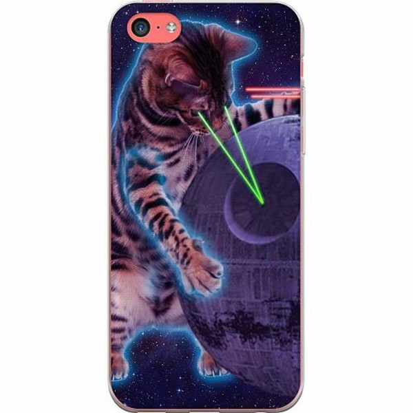 Apple iPhone 5c TPU Mobilskal Death star