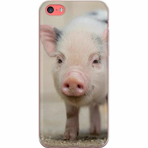 Apple iPhone 5c TPU Mobilskal Happy Pig