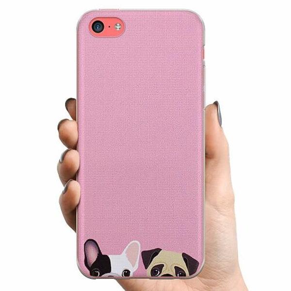 Apple iPhone 5c TPU Mobilskal Hundar