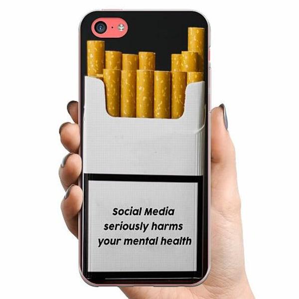 Apple iPhone 5c TPU Mobilskal Social Media Harms...