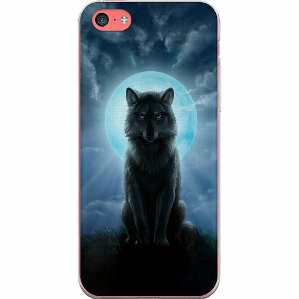 Apple iPhone 5c TPU Mobilskal Wolf in the Dark