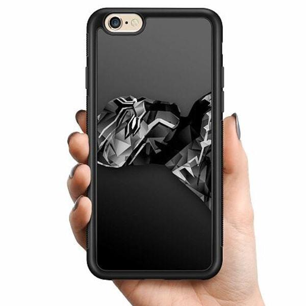 Apple iPhone 6 / 6S Billigt mobilskal - Black Panther