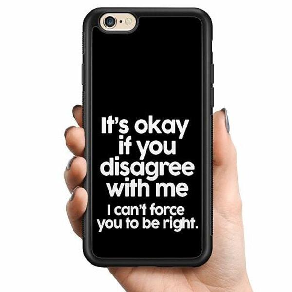 Apple iPhone 6 / 6S Billigt mobilskal - Text