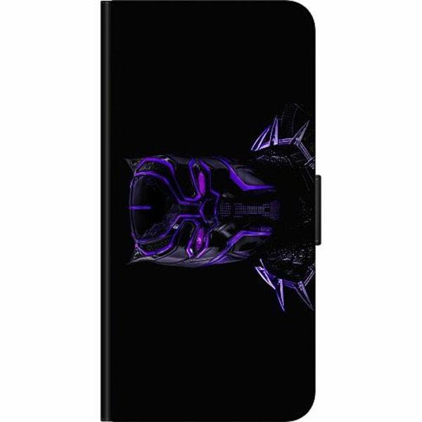 Samsung Galaxy A51 Fodralväska Black Panther