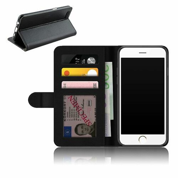 Apple iPhone 6 / 6S Plånboksfodral Militär