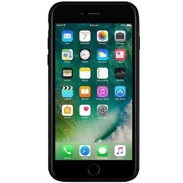 Apple iPhone 6 Plus / 6s Plus Svart Mobilskal med Glas Among Us