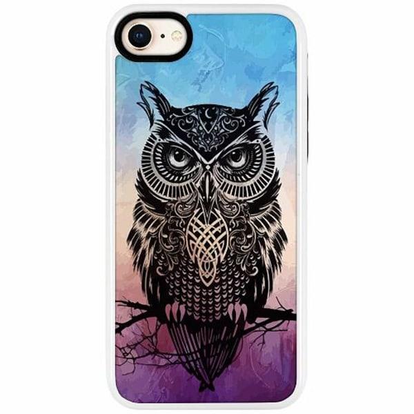 Apple iPhone 7 Duo Case Vit Owl