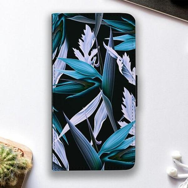 Apple iPhone 7 Fodralskal Blue Flower