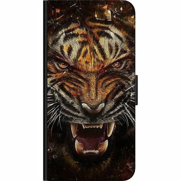 Samsung Galaxy S7 Fodralväska Angry Tiger