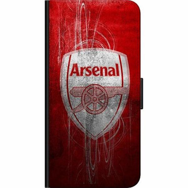 Samsung Galaxy A20s Fodralväska Arsenal