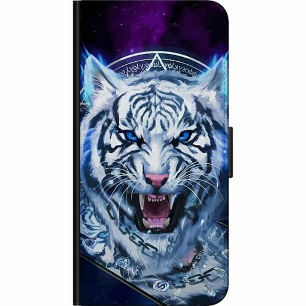 Huawei Y6 (2018) Fodralväska Be Wary Of The White Tiger pt. 2