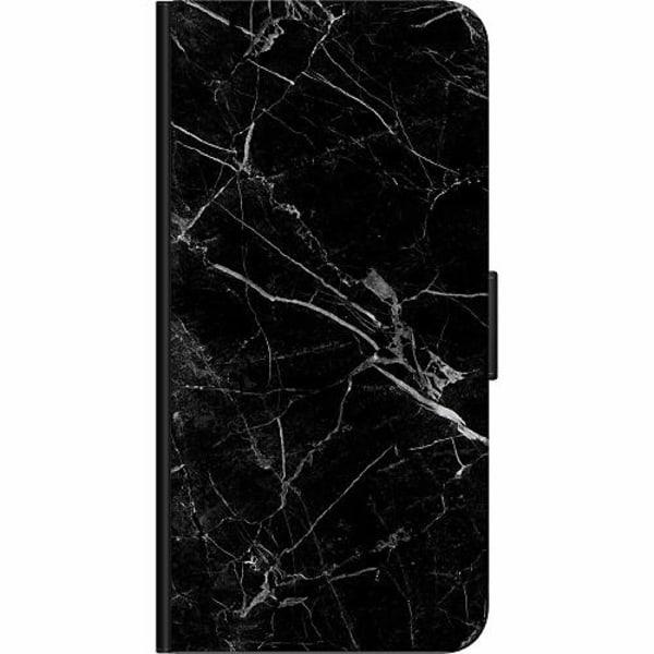 Xiaomi Mi 10 Fodralväska black marble