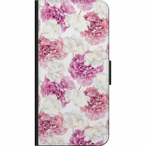 Samsung Galaxy A20e Fodralväska Blommor