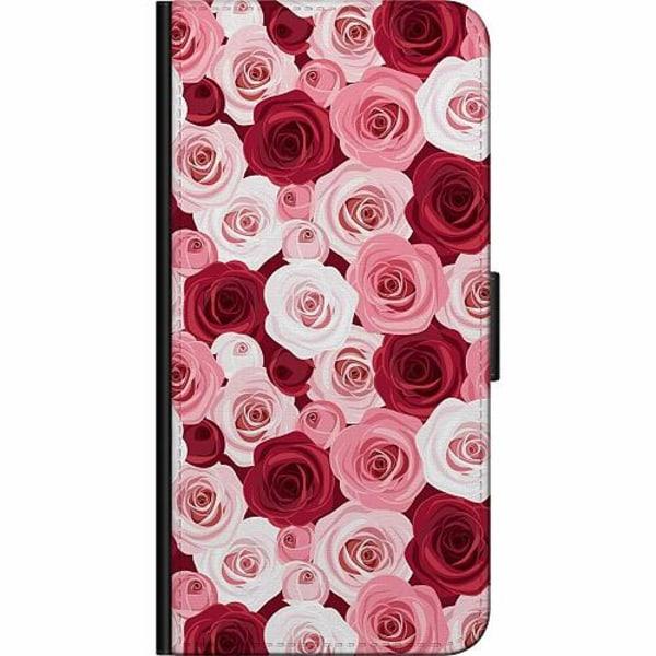 Apple iPhone 5 / 5s / SE Fodralväska Blommor