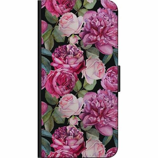 Samsung Galaxy S7 Fodralväska Blommor