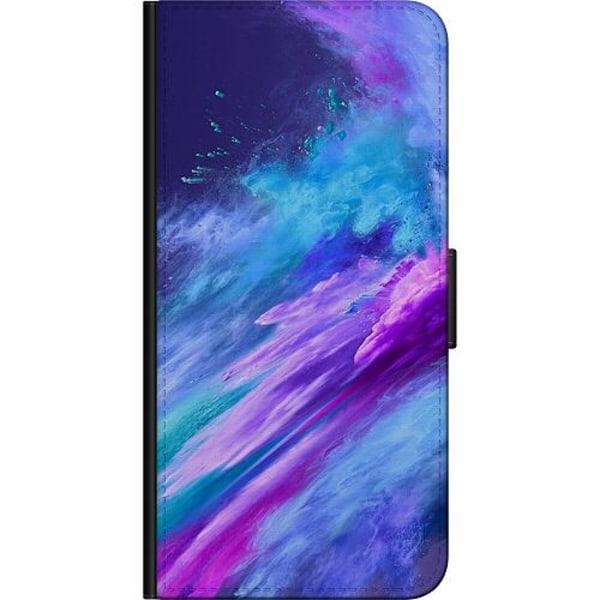 Samsung Galaxy A21s Fodralväska Crashing Purples