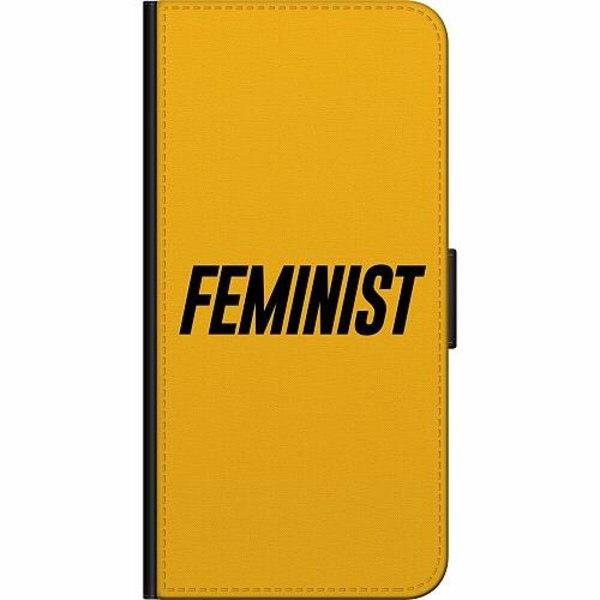 Samsung Galaxy A10 Fodralväska Feminist