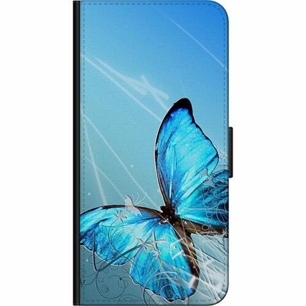 Apple iPhone 12 Pro Fodralväska Fjäril
