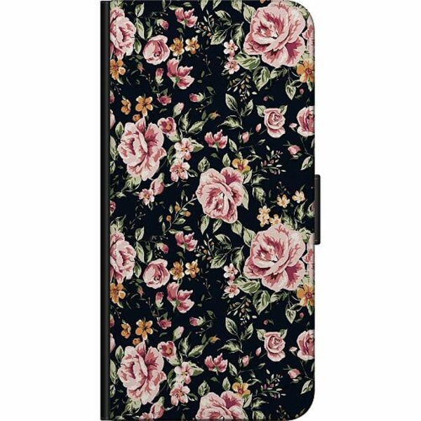 Samsung Galaxy S21 Ultra Fodralväska Flowers