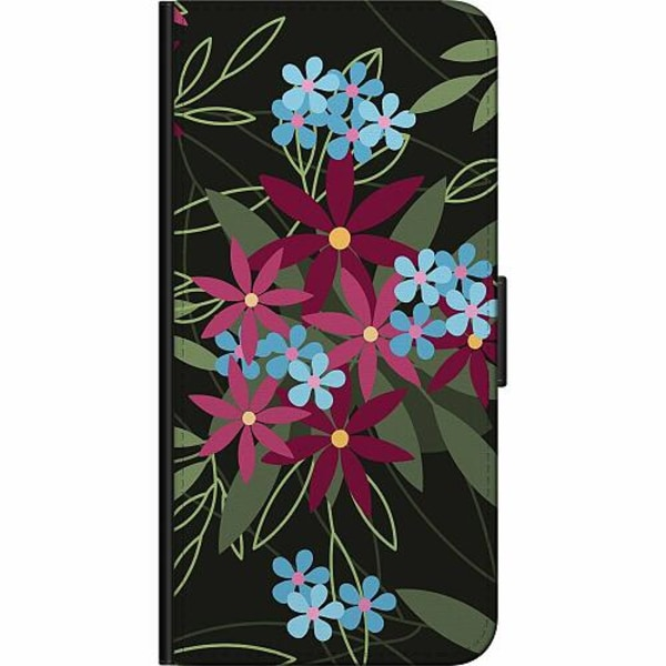 Samsung Galaxy A51 Fodralväska Flowerz