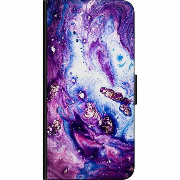 Apple iPhone 5 / 5s / SE Fodralväska Galaxy Marble