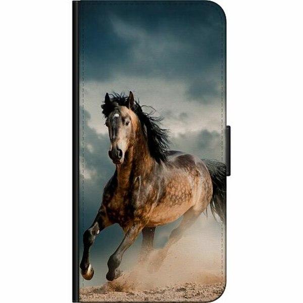 Apple iPhone 5 / 5s / SE Fodralväska Häst