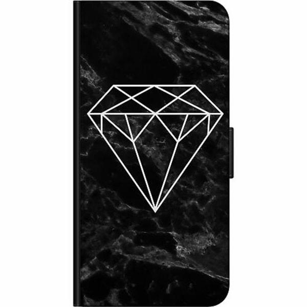 Samsung Galaxy S21 Ultra Fodralväska Marmor Diamant