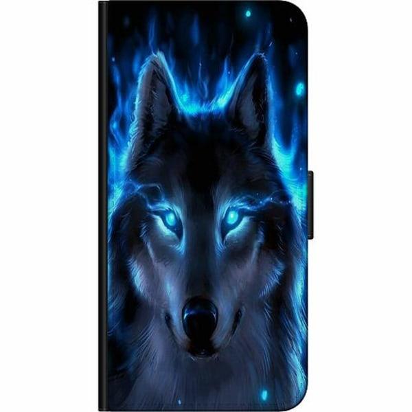 Huawei Y6 (2018) Fodralväska Wolf