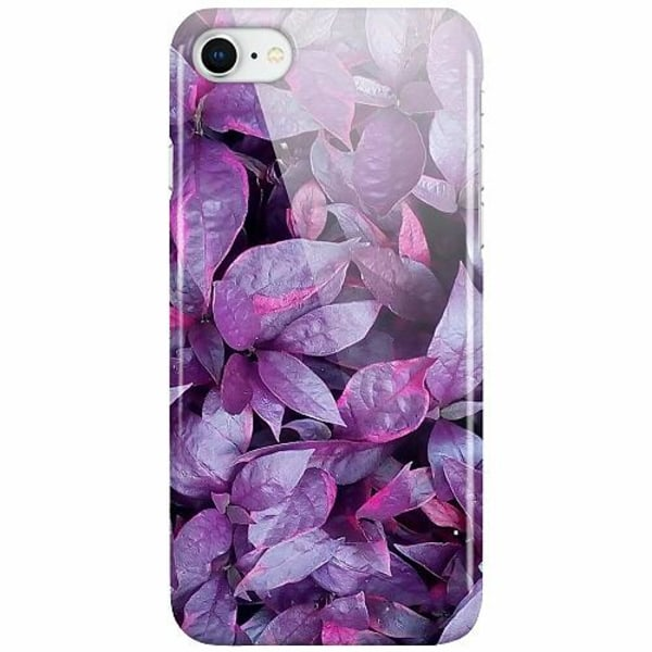 Apple iPhone SE (2020) LUX Mobilskal (Glansig) Purple Shrubs