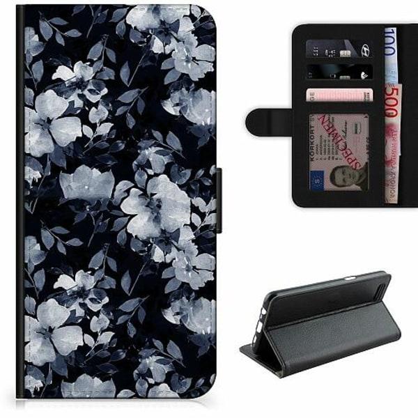 Apple iPhone XR Lyxigt Fodral Blommor