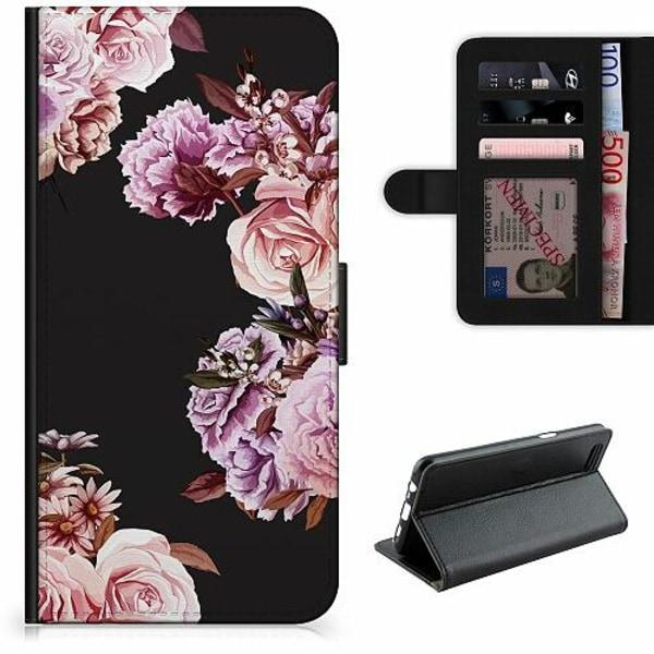 Samsung Galaxy S21+ Lyxigt Fodral Blommor