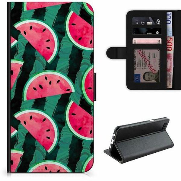 Samsung Galaxy S21+ Lyxigt Fodral Crazy for Watermelon