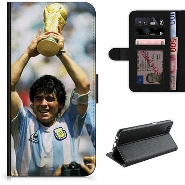 Apple iPhone XR Lyxigt Fodral Diego Maradona