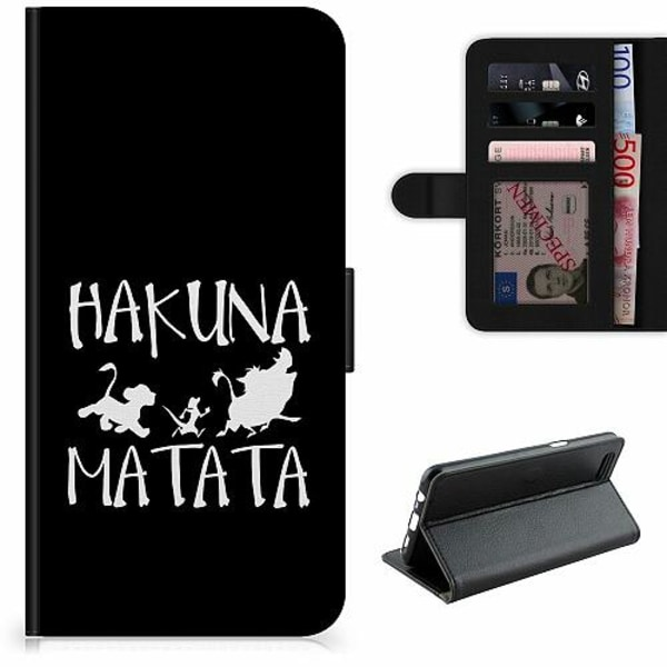 Apple iPhone 12 Lyxigt Fodral Hakuna Matata