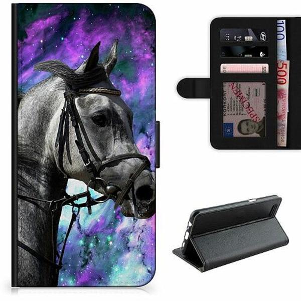 Apple iPhone 5 / 5s / SE Lyxigt Fodral Häst