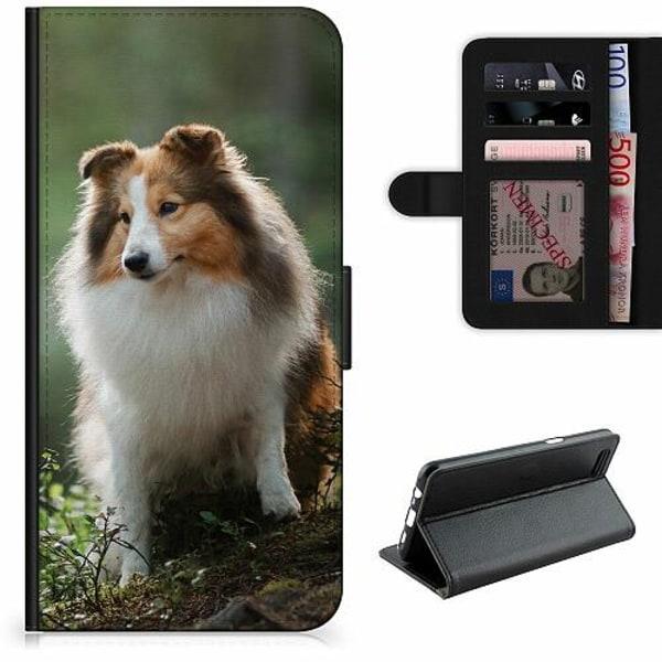 Apple iPhone 5 / 5s / SE Lyxigt Fodral Hund